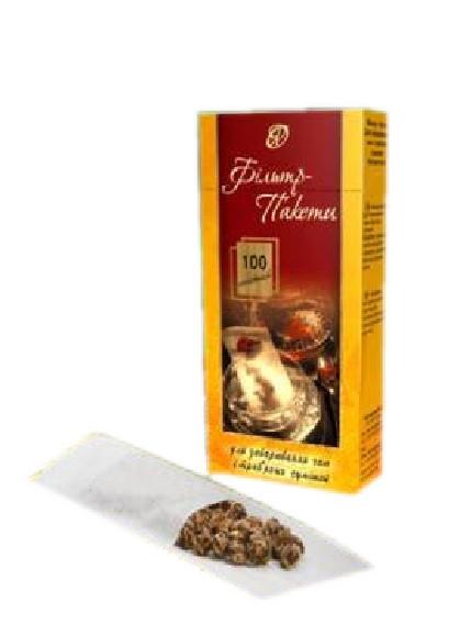 Фильтр пакеты для чая (100шт.)