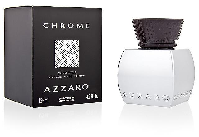 Azzaro Chrome Collector Precious Wood Edition туалетная вода 125 ml. (Аззаро Хром Коллектор Вуд Эдишн)
