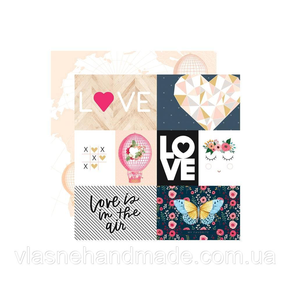 Папір двосторонній - Love Is In The Air - Love Is In The Air - Webster's Pages - 30x30