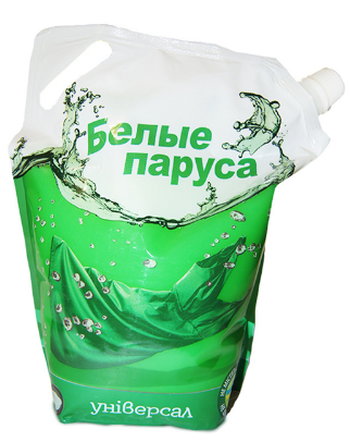 Жидкое универсальное средство «Белые паруса» для машинной и ручной стирки 1500мл