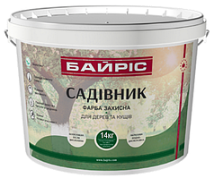 """Краска защитная для деревьев и кустов """"Садовник"""" 1,4 кг"""
