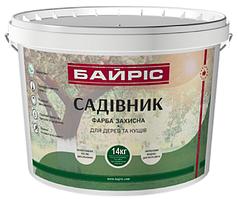"""Краска защитная для деревьев и кустов """"Садовник"""" 14 кг"""