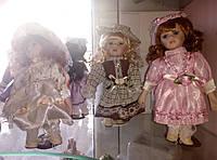 Фарфоровые  коллекционные  куклы на выбор, 20см