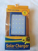 Внешний аккумулятор PowerBank 25000 mAh  solar charger