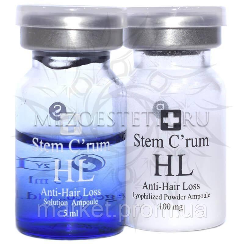 Stem C'rum HL Anti-hair Loss (Двухфазная сыворотка для укрепления волос), Dermaheal (Дермахил), 5 мл*2 амп