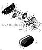 Комплект слайдеров вариатора BRP 420281296 №9, фото 2