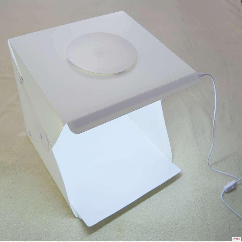 Фотобокс 40x40 см Лайткуб с Led подсветкой Lightbox