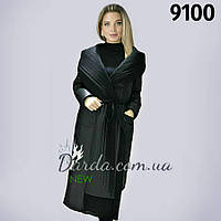 Демисезонное пальто оверсайз с капюшоном женское Armilise 9100 ff2104c7dfdf5
