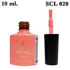 Гель Лак для Нігтів 10 мл, Тон Коралово-Рожевий SCL - 028 Дуже красивий, фото 2
