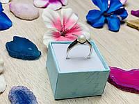 Серебряное кольцо с жемчугом 925 проба