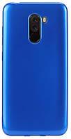 Чохол для смартфона T-PHOX Xiaomi Poco F1 - Crystal (Синій)