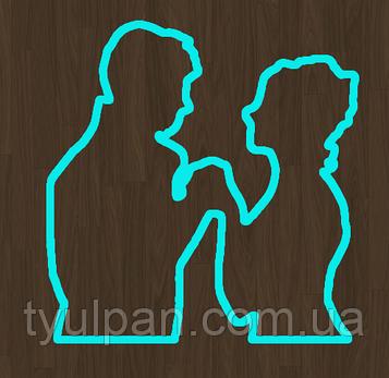 Вырубка кондитерская для пряника мастики марципана пара молодежены свадьба