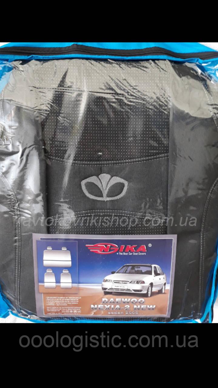 Авточехлы Daewoo Nexia II 2008- Nika