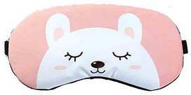 Маска для сна Сонный мишка