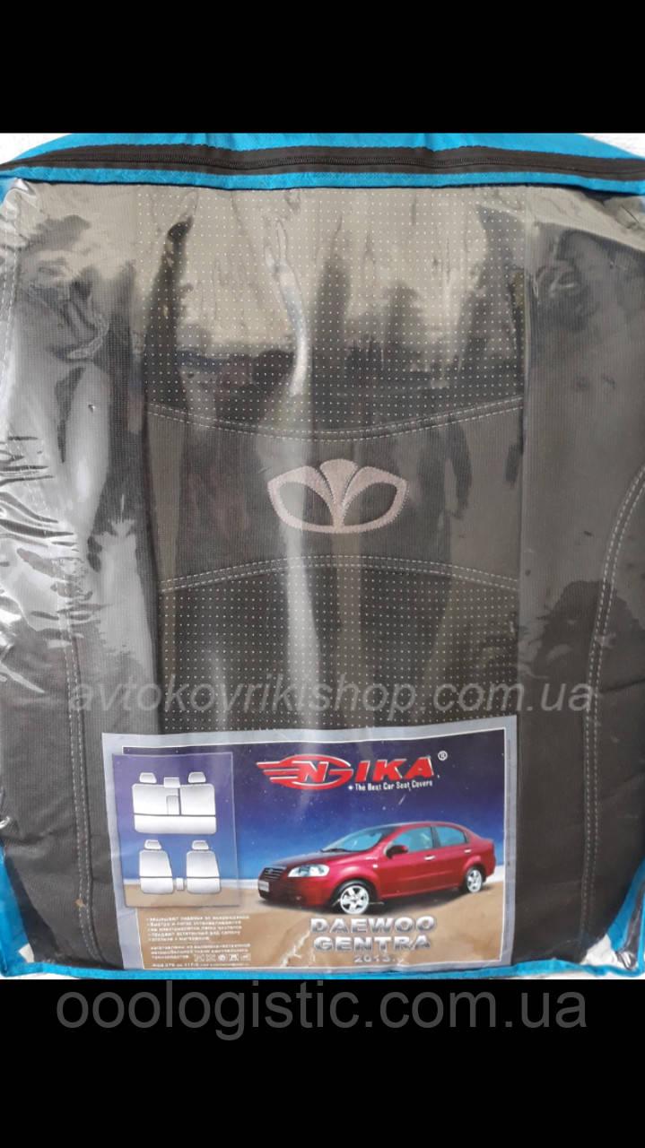Авточехлы Daewoo Gentra 2013- Nika