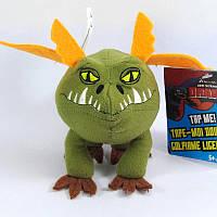 Мягкая игрушка Spin Master Дракон Сарделька  Как приручить дракона 13 см 00016