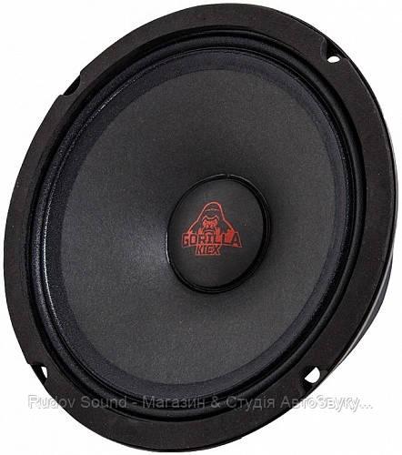 Эстрадная акустика Kicx Gorilla Bass Mid M2 (16.5см | 110/250w | 96db | 88-13200hz)