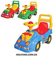 Каталка автомобиль  ТехноК толокар 2490 красный,синий,зеленый.