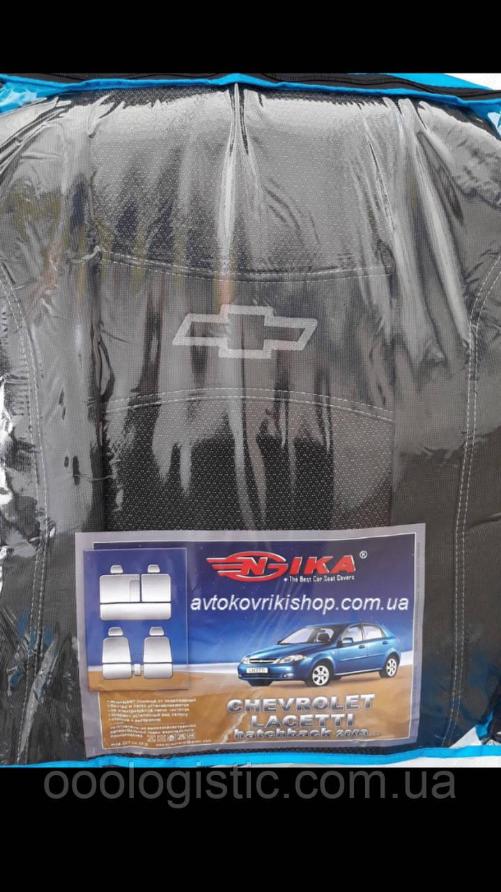 Автомобильные чехлы Chevrolet Lacetti 2003- HB Nika, фото 1