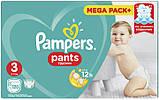 Подгузники-трусики Pampers Pants Размер Размер 3 (Midi) 6-11 кг, Впитывающие Каналы, 120 подгузников, фото 2