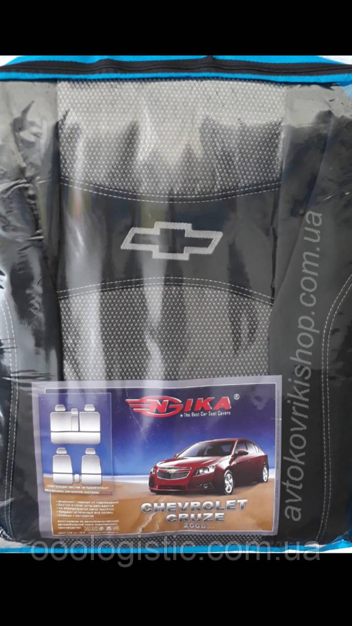 Автомобильные чехлы Chevrolet Cruze 2008- Nika