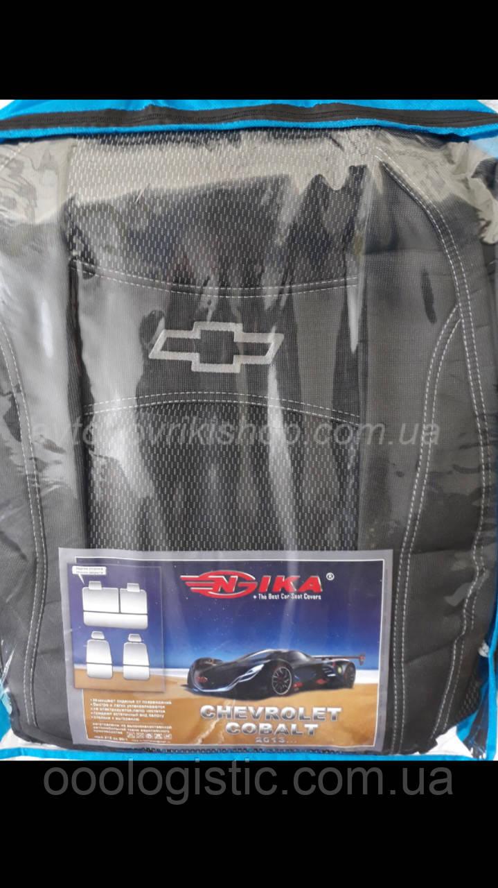 Автомобильные чехлы Chevrolet Cobalt 2013- Nika