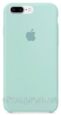 Чехол Silicone case для iPhone 7Plus / 8Plus MARINE GREEN