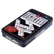 Настільна гра Доміно (у металевій коробці)