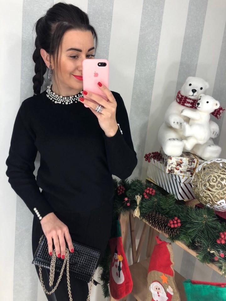 Женский элегантный свитер (Фабричный Китай )  Код 0294