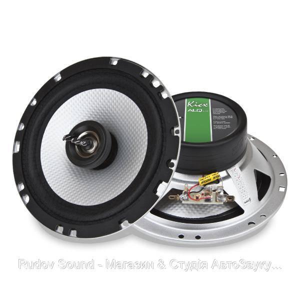 Коаксиальная акустика Kicx ALQ 652 (16.5см   100/200w   90db   70-20000hz)