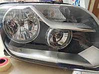 Установка светодиодных ламп с цоколем Н15 в фары Volkswagen Amarok