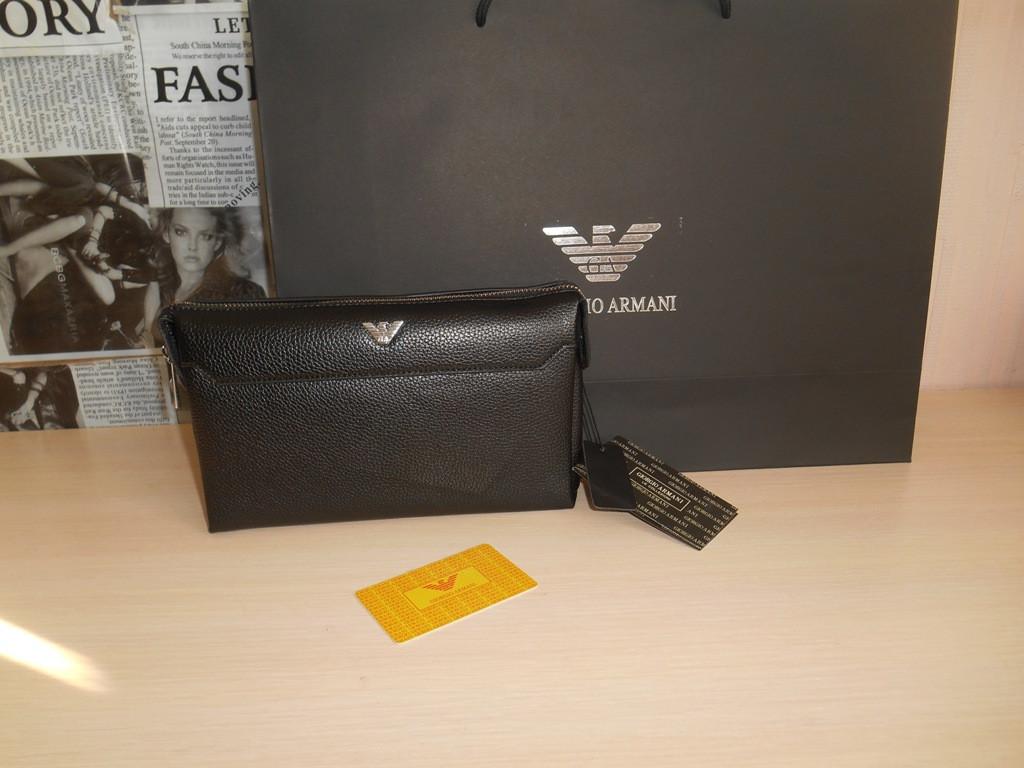 ae22cc14a069 Мужской кожаный Кошелек клатч барсетка, органайзер Armani, Mont Blanc,  Lacoste, Gucci,