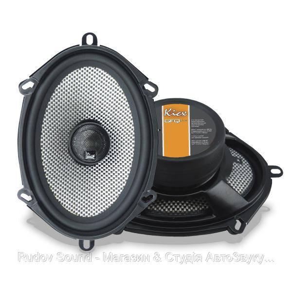 """Коаксиальная акустика Kicx GFQ 572 (5x7""""   90/180w   91db   65-20000hz)"""