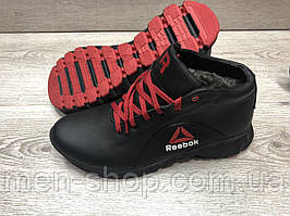 Кроссовки с мехом в стиле  Reebok
