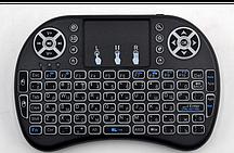 Клавиатура-мини беспроводная с подсветкой i8