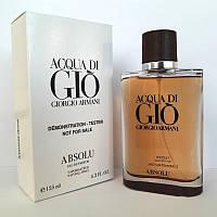 Giorgio Armani Acqua di Gio Absolu (Аква Ди Джио Абсолю) парфюмированная вода - тестер, 125 мл, фото 1
