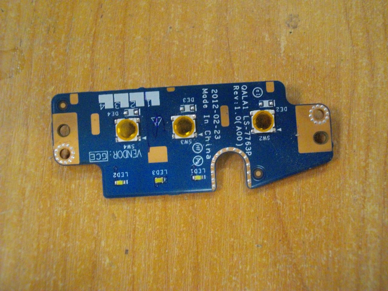 Плата з кнопками LS-7763P DELL Latitude E6530 бу