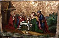 Икона Рождество Христово 19 век