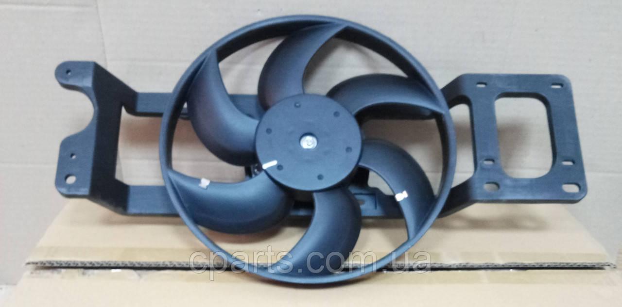 Вентилятор радиатора Dacia Sandero без А/С (Asam 30444)(среднее качество)