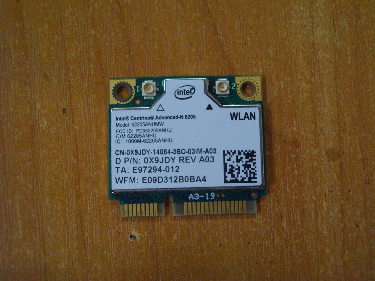 Плата WI-FI 602205ANHMW DELL Latitude E6530 бу