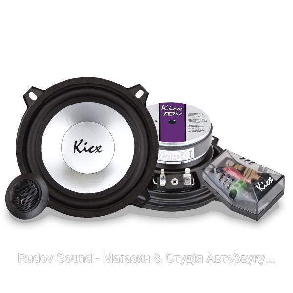 Компонентная акустика Kicx PD 5.2 (13см | 70/140w | 91db | 70-24000hz)