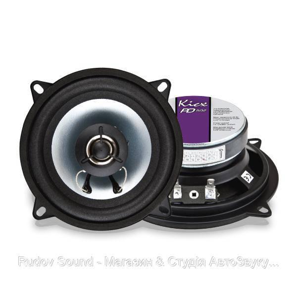 Коаксиальная акустика Kicx PD 502 (13см   30/60w   90db   80-20000hz)