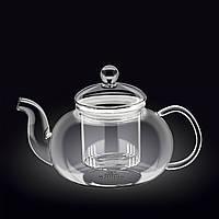Thermo Чайник заварочный с ситечком 600мл стекло Wilmax
