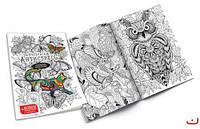 """Набір креативної творчості """"Розмальовка Антистрес"""" з фломастерами(40) RA-01-02"""