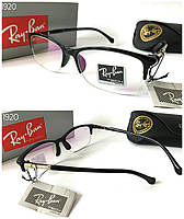 Имиджевые очки компьютерные полуободковая черная оправа Ray Ban 3278861e11c2f