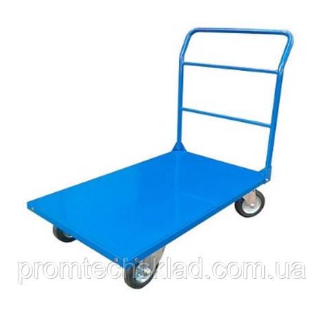 Візок платформна 1250 х 800 мм, навантаження 400 кг