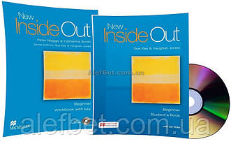 Английский язык / New Inside Out / Student's+Workbook+CD. Учебник+Тетрадь (комплект), Beginner / Macmillan
