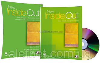 Английский язык / New Inside Out / Student's+Workbook+CD. Учебник+Тетрадь (комплект), Elementary / Macmillan