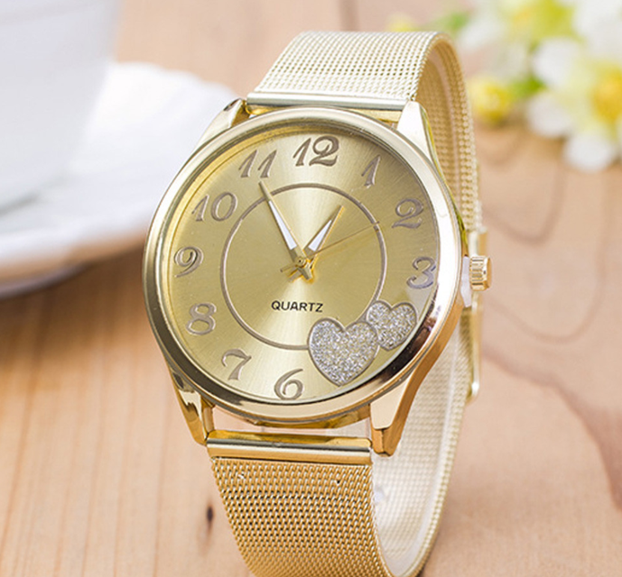 54f3fbab Наручные часы женские Сердечки , цена 275 грн., купить в Киеве ...