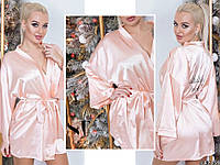 Атласный халат женский   мод.0788, фото 1